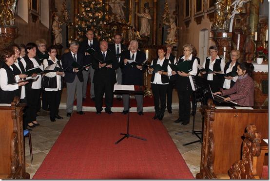 2019 - Weihnachtliches Singen Volksschor Kronach I (26.12.19)