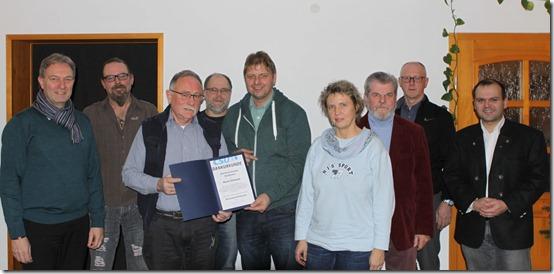 2020 - Bronzene Raute Horst Schnura (05.01.20)