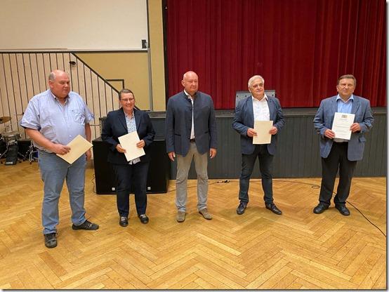 2021 - Tettau Ehrungen Gemeinderat (26.07.21)