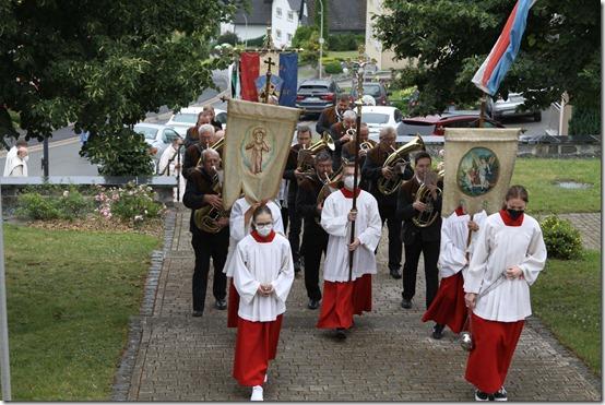 2021 - Tschirn 150. Jahre Kirche St. Jakobus I (01.08.21)
