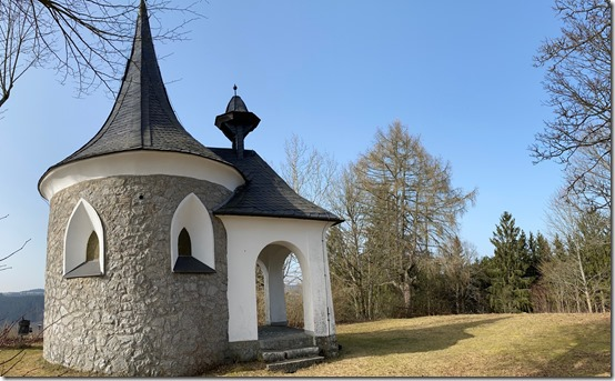 2021 - Wallenfels Schloßbergkapelle I (23.02.21)
