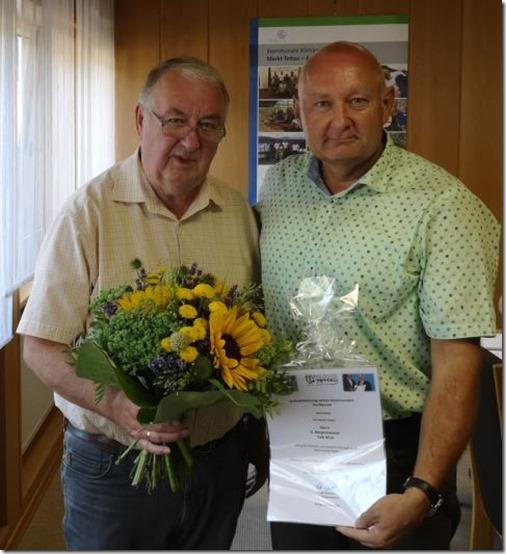 Glückwunsch Falk Wick - kommunale Verrdienstmedaille