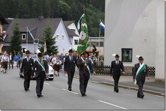2019 - Schützenumzug  Wallenfels I (16.06.19)