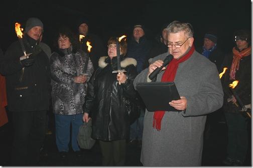 2009 - 20 Jahre Grenzöffnung Tschirn I (23.12.09)