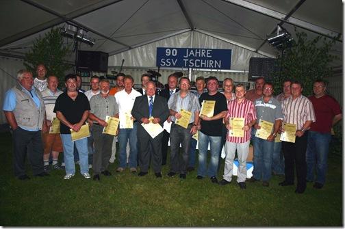 2009 - 90. Jahre SSV Tschirn I (03.07.09)