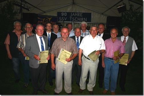 2009 - 90. Jahre SSV Tschirn II (03.07.09)