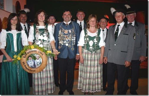 2009 - Schützenproklamation Tschirn II (20.06.09)