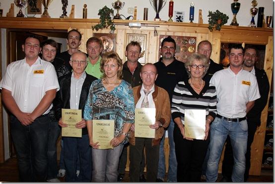 2010 - Ehrungen Siedlerkirchweih (14.08.10)