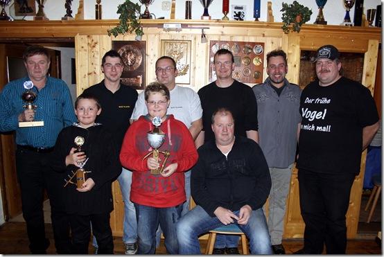 2010 - Weihnachtsfeier mit Auszeichnungen (11.12.10)
