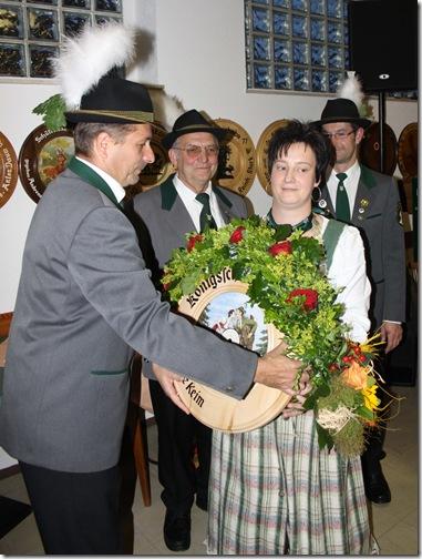 2011 - Schützenkönig Tschirn VIII (18.06.11)