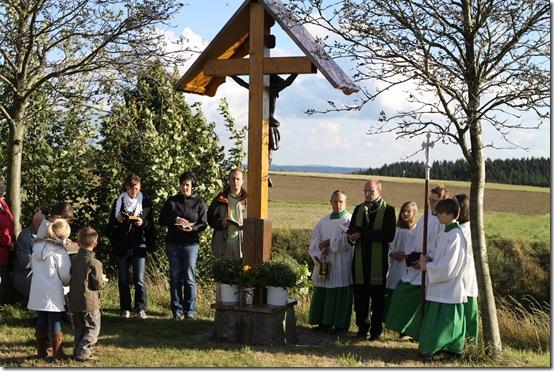 2012 - Segnung Kreuz Tschirn I (22.09.12)
